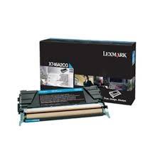 Lexmark Cartridge Cyan (X746A1CG) Return