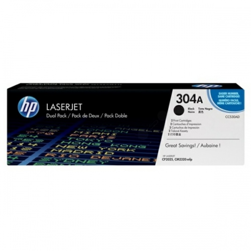 HP Cartridge No.304A Black (CC530A)