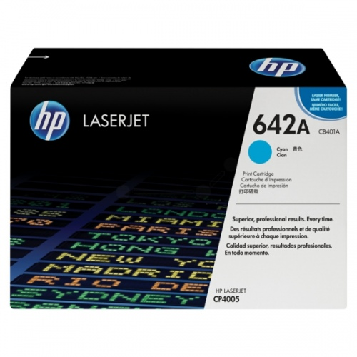HP Cartridge No.642A Cyan (CB401A) EOL
