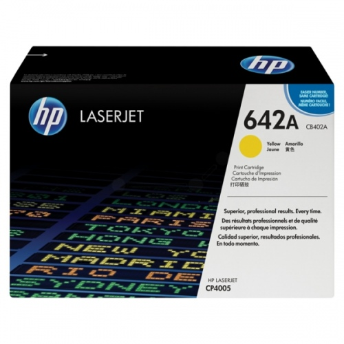 HP Cartridge No.642A Yellow (CB402A) EOL