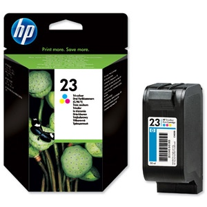 HP Ink No.23 Tricolor (C1823D)