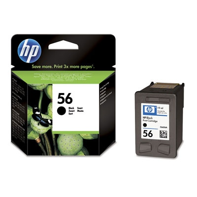 HP Ink No.56 Black (C6656AE)