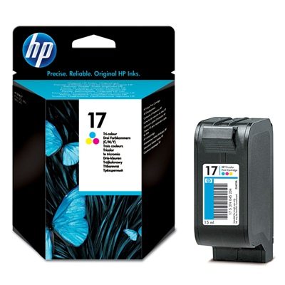 HP Ink No.17 Tri-Color (C6625A)