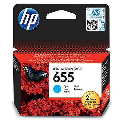HP Ink No.655 Cyan (CZ110AE)