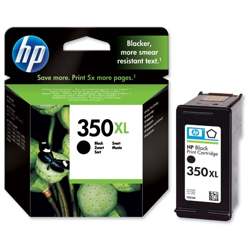 HP Ink No.350 XL Black (CB336EE)