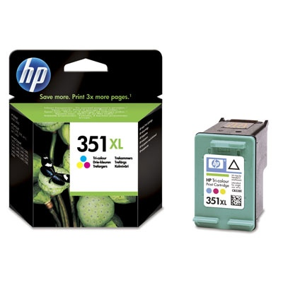HP Ink No.351 XL Tri-Color (CB338EE)