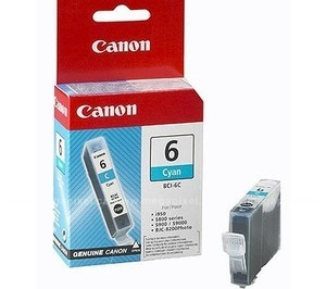Canon Ink BCI-6 Cyan (4706A002)