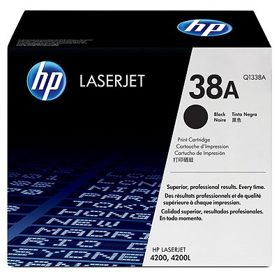 HP Cartridge No.38A Black (Q1338A) EOL