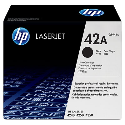HP Cartridge No.42A Black (Q5942A)