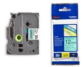 TZe-731 Green/Black (TZE731) 12mm, 8m