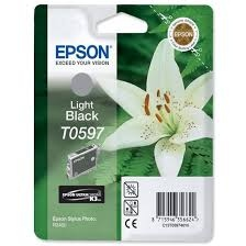 Epson Ink T0597 Light-Black (C13T05974010)