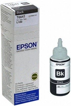 Epson Ink Black (C13T66414A)
