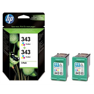 HP Ink No.343 Tri-Color (CB332EE)