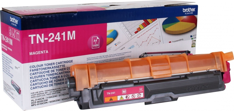 Brother Cartridge TN-241 Magenta (TN241M)