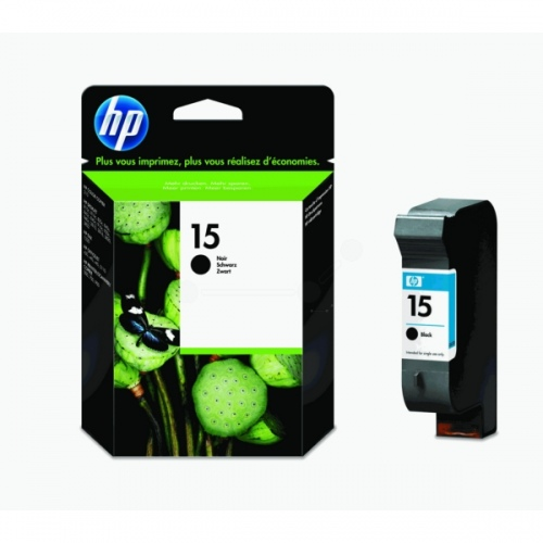HP Ink No.15 Black (C6615DE)