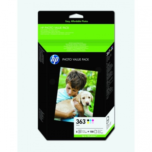 HP Ink No.363 Multipack Ink / photo paper (Q7966EE)