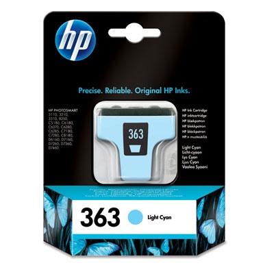 HP Ink No.363 Light-Cyan (C8774EE)