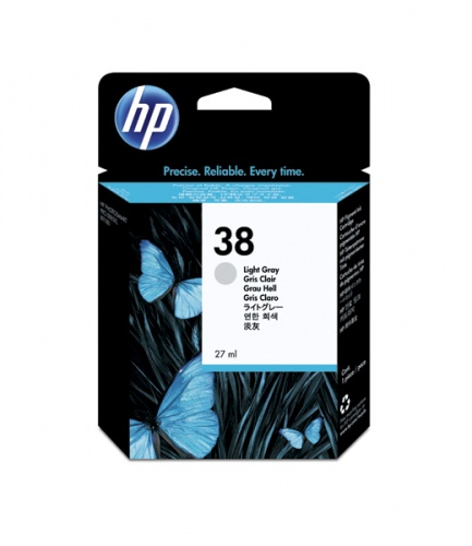 HP Ink No.38 Light Grey (C9414A)