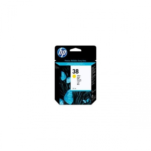 HP Ink No.38 Yellow (C9417A)