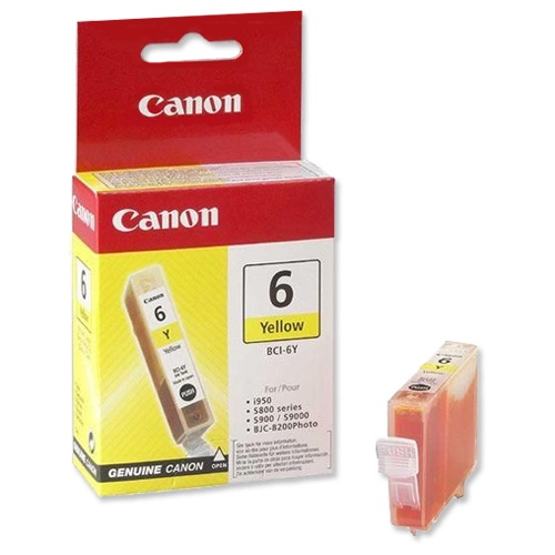 Canon Ink BCI-6 Yellow (4708A002)