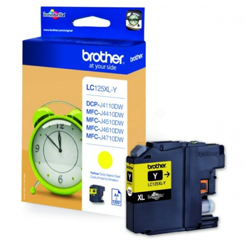 Brother Ink LC 125XL Yellow (LC125XLY)