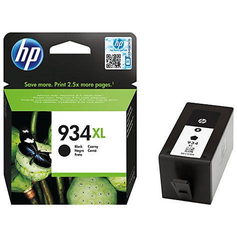 HP Ink No.934XL Black HC (C2P23AE)
