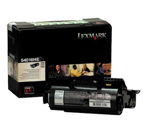 Lexmark Cartridge Black (64016HE) Return