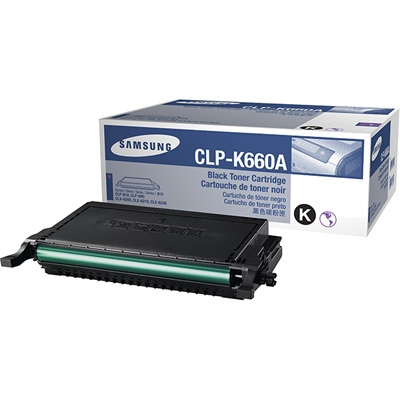 HP Cartridge Black CLP-K660A/ELS (ST899A)