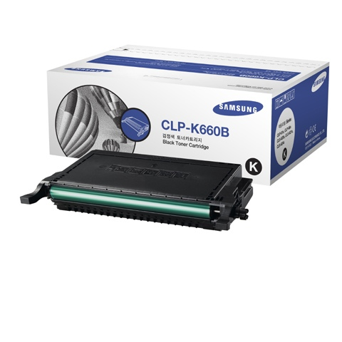 HP Cartridge Black CLP-K660B/ELS (ST906A)