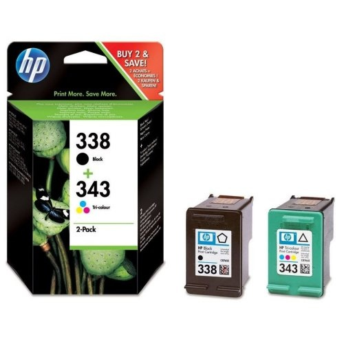 HP Ink No.338/343 Multi-Pack (SD449EE)