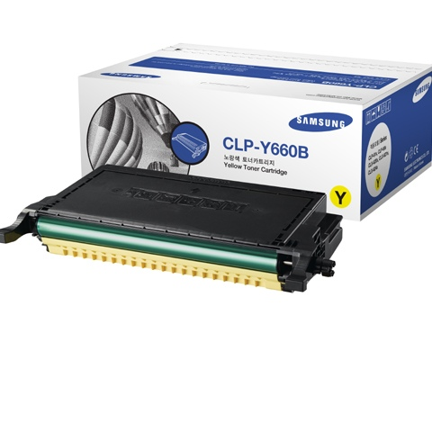HP Cartridge Yellow CLP-Y660B/ELS (ST959A)