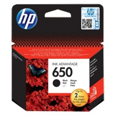 HP Ink No.650 Black (CZ101AE)