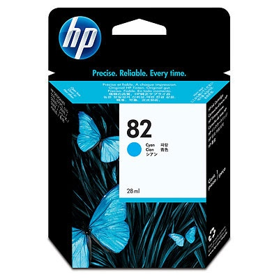 HP Ink No.82 Cyan (C4911A)