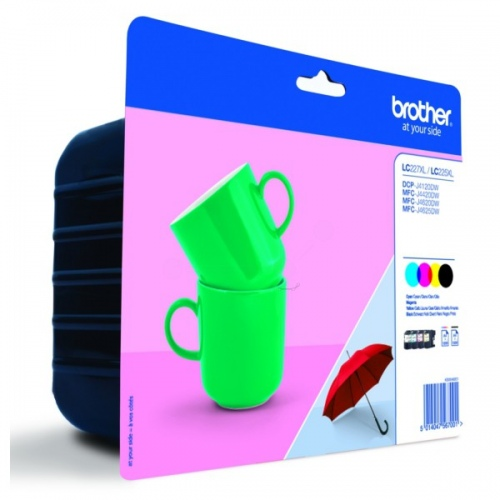 Brother Ink LC 227XL Rainbow-Pack (LC227XLVALBPDR)