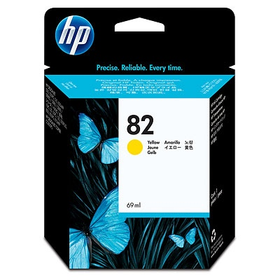 HP Ink No.82 Yellow (C4913A)