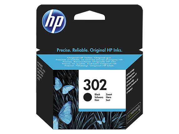HP Ink No.302 Black (F6U66AE)