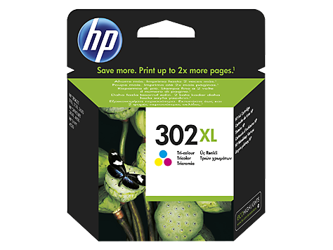 HP Ink No.302XL Color (F6U67AE)
