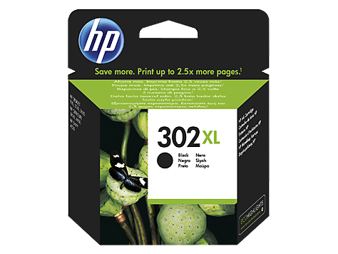 HP Ink No.302XL Black (F6U68AE)