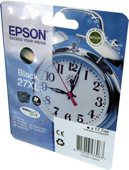 Epson Ink No.27XL Black (C13T27114012)