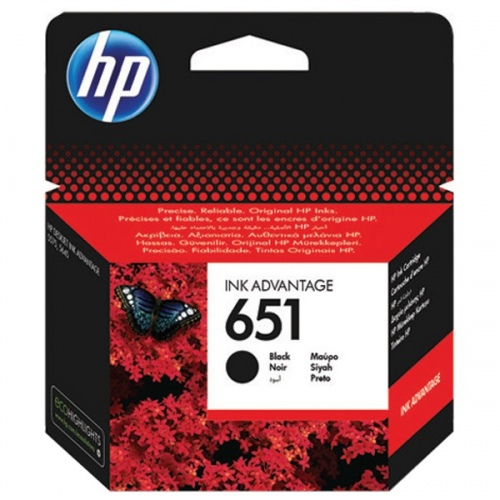 HP Ink No.651 Black (C2P10AE)