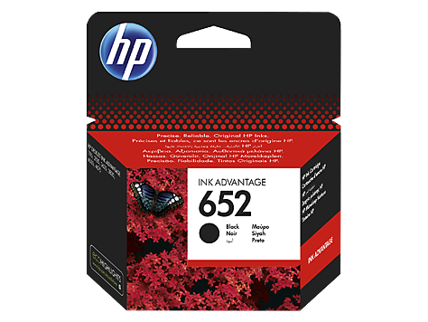 HP Ink No.652 Black (F6V25AE)