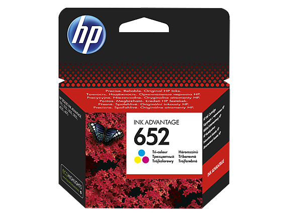 HP Ink No.652 Color (F6V24AE)