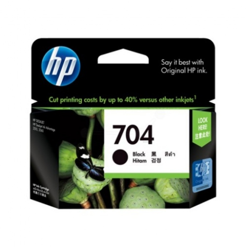 HP Ink No.704 Black (CN692AE)