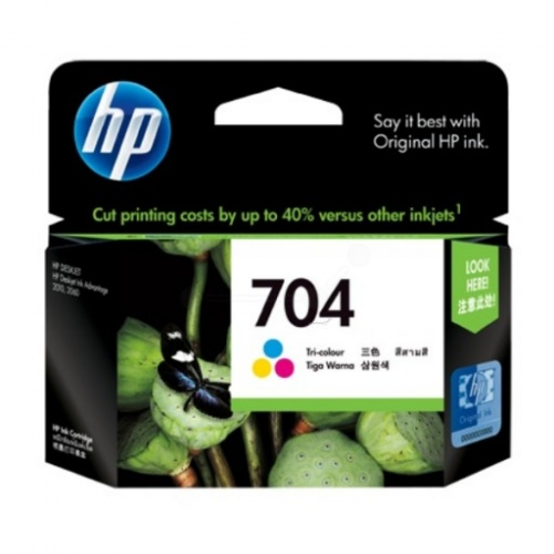 HP Ink No.704 Color (CN693AE)