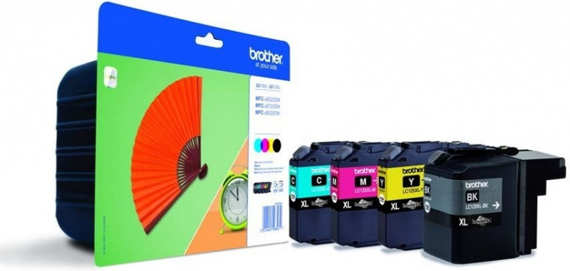 Brother Ink LC 129XL Rainbow-Pack (LC129XLVALBPDR)