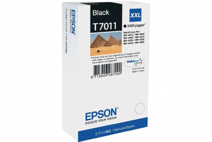Epson Ink Black XXL (C13T70114010)