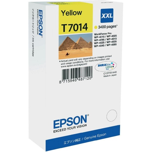 Epson Ink Yellow XXL (C13T70144010)