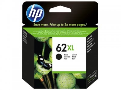 HP Ink No.62XL Black (C2P05AE)