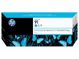 HP Ink No.91 Cyan (C9467A)