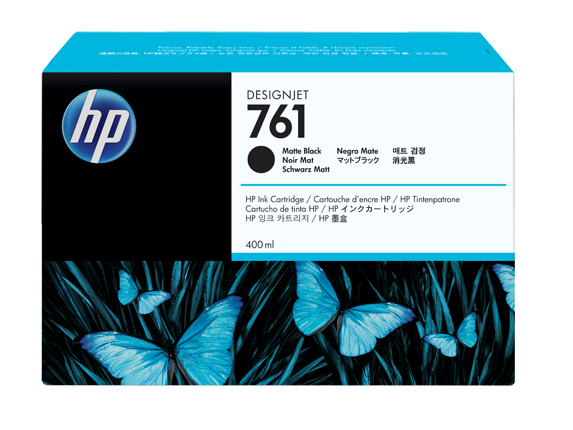 HP Ink No.761 matt schwarz (CM991A)